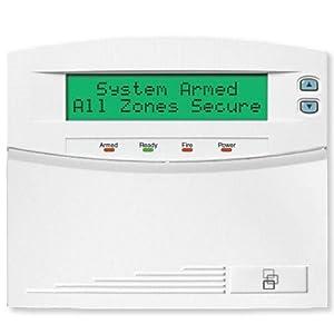 192-Zone Prog LCD Keypad With Int 48-Zone Wireless Receiver