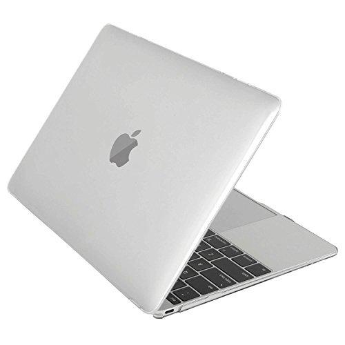 Mosiso - MacBook Retina ディスプレイ12 インチ用 ハード ケース カバー 高品質シェルカバー (対応モデル:2015/2016年[A1534]新型 光学ドライブ無し)(クリア)