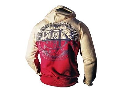 Yakuza Ink Kapuzensweatshirt - HOB 423 gelb/rot moon NEU