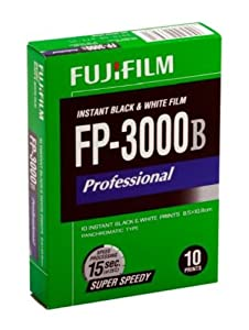 FUJIFILM FP-3000B 3.34 X 4.25 Inches Professional Instant Black and White Film