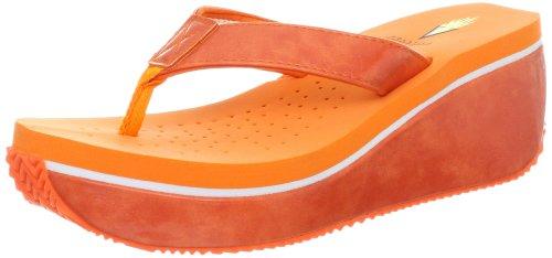 Volatile Women'S Latane Thong Sandal,Orange,8 B Us front-906021