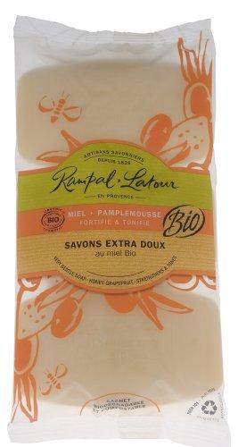 Rampal Latour ランパル・ラトゥール オーガニックソープ グレープフルーツ 150g×3個set