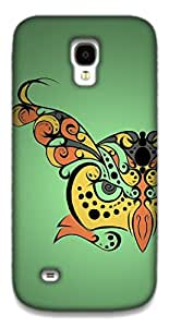 The Racoon Grip Hypnoowl Green hard plastic printed back case / cover for Samsung Galaxy S4 Mini