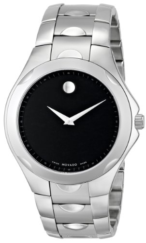 "Movado Men's 606378 ""Luno Sport"" Stainless Steel Bracelet Watch"