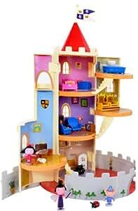 Pequeño Reino de Ben y Holly - Set de juego pequeño castillo mágico con 4 figuras y varita mágica