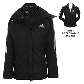 Adidas Ladies 3in 1 ClimaProof Jacket by adidas