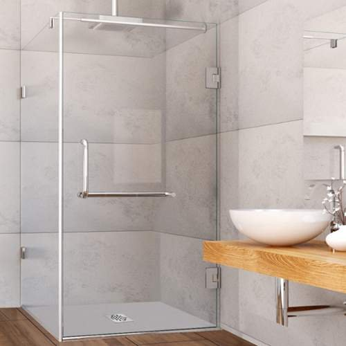 VIGO-Pacifica-36-x-48-in-Frameless-Shower-Enclosure-with-375-in-Clear-Glass-and-Brushed-Nickel-Hardware