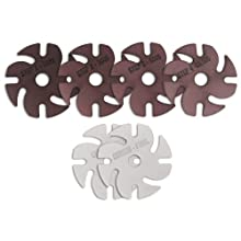 "JoolTool 3M 6-Piece Premium Diamond and Cerium Abrasive Disc Kit, Wet/Dry Use, 3"" Diameter"