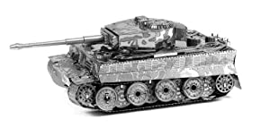 Fascinations MetalEarth 3D Laser Cut Model - Tiger I Tank