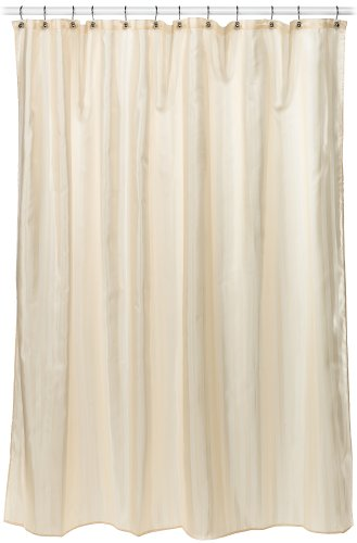 Croscill Fabric Shower Curtain Liner, 70-Inch By 72-Inch, Linen front-947534