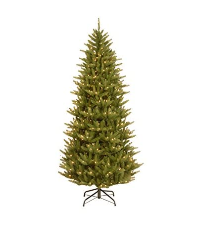 "National Tree Company 7.5' ""Feel Real"" Natural Frasier Slim Hinged Tree"