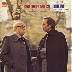 ロストロポーヴィチ(Vc) ジュリーニ指揮 ドヴォルザーク&サン=サーンス:チェロ協奏曲の商品写真
