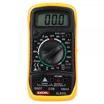 LCD Digital Ohm VOLT Meter AC DC Voltmeter Multimeter