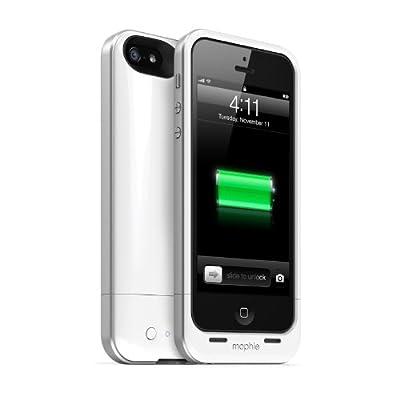 【日本正規代理店品】mophie juice pack air for iPhone 5 ホワイト MOP-PH-000031
