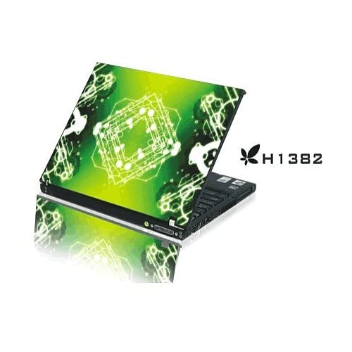 15.4 Laptop Notebook Skins Sticker Cover H1382 Emerald Green (Brand New with 2 FREE touch pad decals)