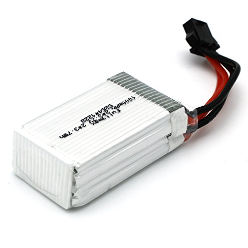 UDI RC Original 3.7Vx2 1000mAh Li-Po Battery with Battery Box for UDI