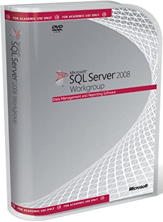 Microsoft SQL Server Workgroup Edition 2008 Educational DVD - 5 Client (PC CD)