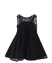 The Kidshop Girls Dress (TKSPF13Y23_Black_2-3 Yrs)