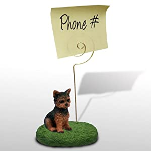 Amazon.com: Yorkshire Terrier Puppy Cut Memo Holder: Everything Else