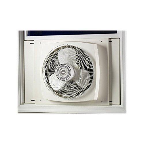 Lasko #2155A Electrically Reversible Window Fan, 16 Inches