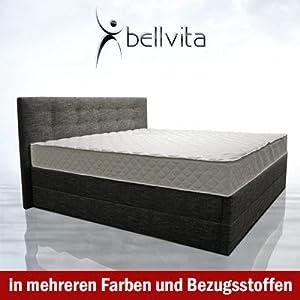 sonderaktion bellvita mesamoll ii wasserbett in boxspring optik mit kopfteil inkl montage 200. Black Bedroom Furniture Sets. Home Design Ideas