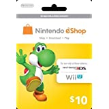 Nintendo Yoshi Prepaid eShop $10 for 3DS or Wii U by Nintendo