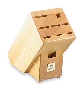 Mundial Solid Wood KB-9 Series 9-Slot Knife Storage Block