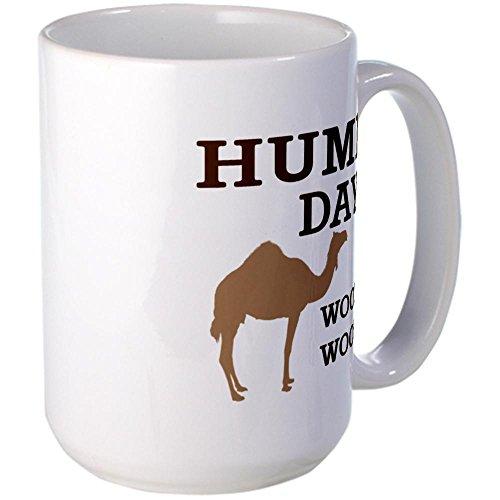 Cafepress Hump Day Mugs Large Mug - Standard Multi-Color