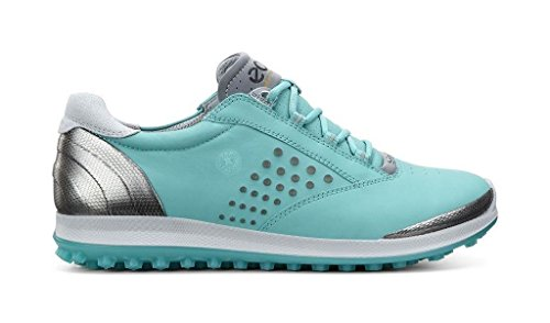 Ecco Hybrid 2 - 120213/01018 Womens Hydromax Leather Golf Shoes Turquoise