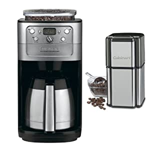 Cuisinart (DGB-900BC) 12 Cup Grind & Brew Coffeemaker (Brushed Chrome) + (ED150) Bean Vac Coffee Canister