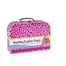 Nesting Fashion Toy Suitcases by Babalu