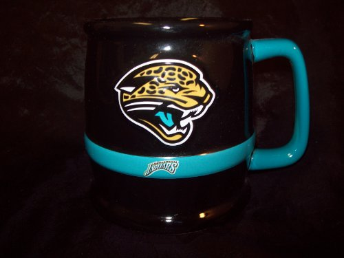 Jacksonville Jaguars Sculpted Ceramic Tankard Coffee Mug