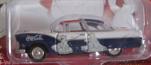 Johnny Lightning Coca Cola 1955 Ford Crown Victoria