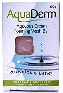AQUADERM AQUEOUS CREAM FOAMING WASH BAR 100G - 100G