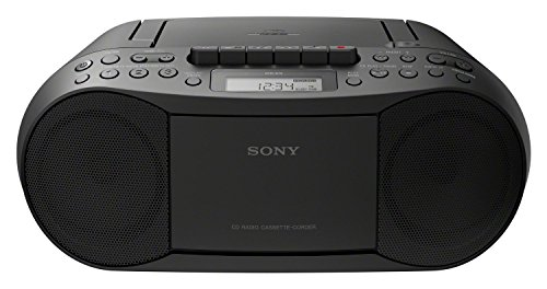 Sony CFD-S70B Lecteur CD/MP3, Radio - Noir