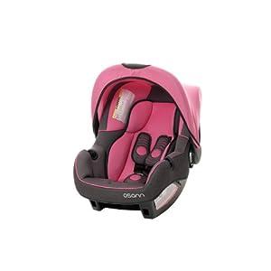 Osann Babyschale BeONE SP deluxe Super Pink - 0 bis 13 kg