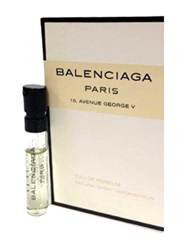 Balenciaga Paris 10, Avenue George V .04oz/1.2ml Eau de Parfum Sample Vial Spray
