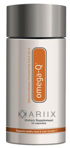 Ariix Omega-Q - Heart Health Supplement (56 Softgels)