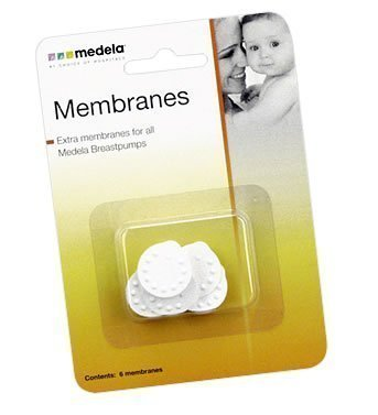 Fantastic Deal! Medela Membranes for Breastpump Shields - 6 pack --