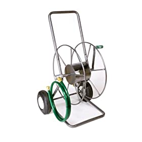 Yard Butler HT-2EZ 2-Wheeled Garden Hose Truck with 200-Foot Hose Capacity