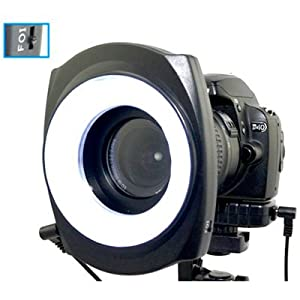 JJC LED-48B 48 Piece Macro Ring Lighting Unit - Whole Ring, Inner Ring or Outer Ring. For lenses with 49mm, 52mm, 55mm, 58mm, 62mm, 67mm thread