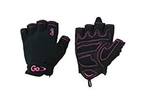 GoFit Women'S Cross Training Glove With Etched Synthetic Leather Palm by GoFit
