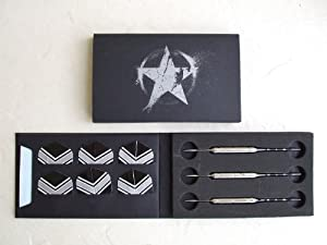 Marlboro Steel Tip Custom Dart Collectible Set of 3 darts ~ with USA Map