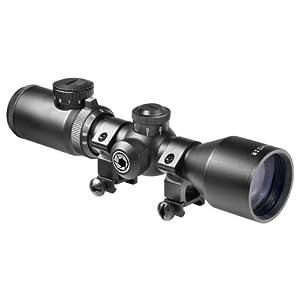 BARSKA 3-9x42 IR Contour Riflescope (4A Mil-Plex IR 7 8 Picatinny Base) by Barska