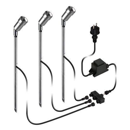parlat-LED-Gartenstrahler-Spica-mit-Erdspie-fr-auen-IP44-68lm-warm-wei-3er-Set