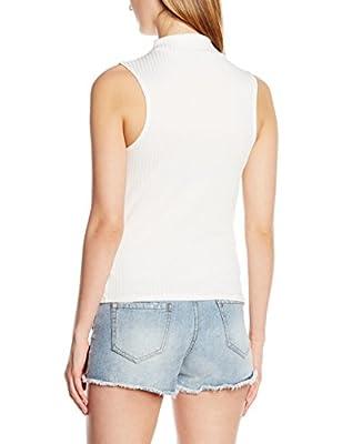 New Look Women's Carly Rib Sleeveless Top