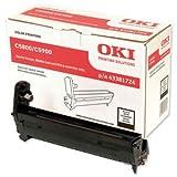 OKI Black Image Drum for C5800/5900: 43381724 (43381724)