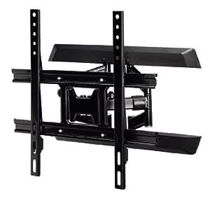 Flashstar TV Wandhalterung (Vollbeweglich, geeignet für 81 - 119 cm (32 - 47 Zoll) max. 30 kg) schwarz
