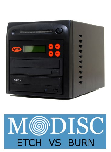 Systor 1-1 M-Disc Support CD DVD Burner Multiple Duplicator 20X SATA Burner with USB Connection (£40 value)