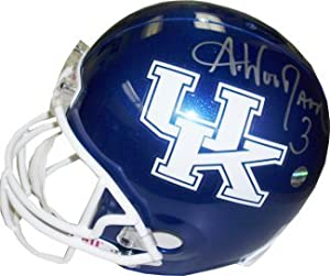 Andre Woodson signed Kentucky Wildcats Full Size Replica Helmet by Athlon+Sports+Collectibles